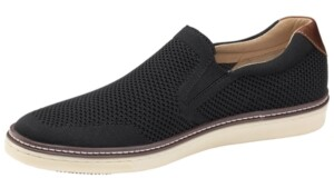 Johnston & Murphy Men's McGuffey Knit Slip-On Shoes Men's Shoes