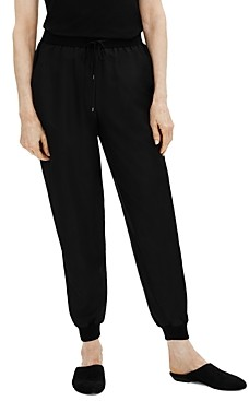 Eileen Fisher Silk Jogger Pants