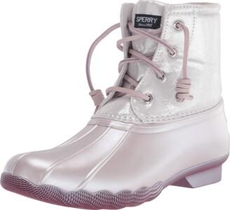 Sperry Saltwater Sparkle Textile Rain Boot