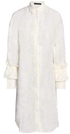 Mother of Pearl Fil Coupé Cotton-Blend Shirtdress