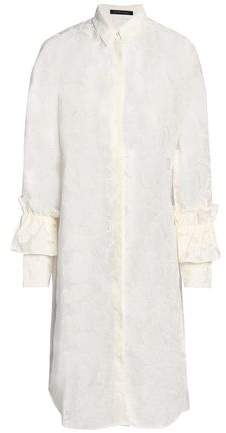 Mother of Pearl Fil Coupe Cotton-blend Shirtdress