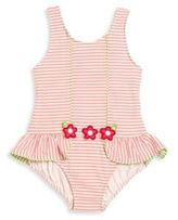 Florence Eiseman Baby's, Toddler's & Little Girl's One-Piece Striped Floral Swimsuit