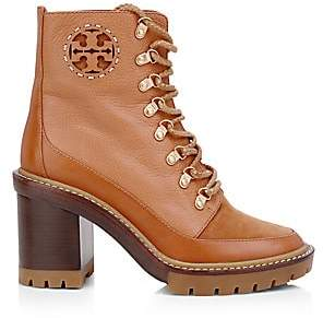 Tory Burch Women's Miller Lug Sole Hiking Booties