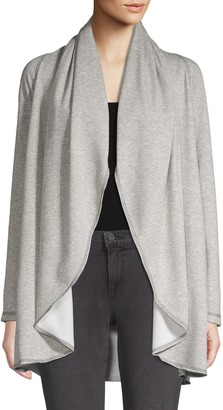 Supply & Demand Draped Open Cardigan