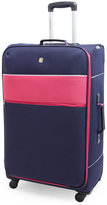"Swiss Gear 28"" Navy & Pink Upright Spinner"