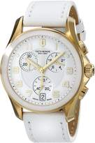 Victorinox Women's 241511 Gold Leather Swiss Quartz Watch