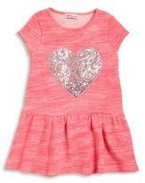Design History Toddler's & Little Girl's Sequin Embellished Dress