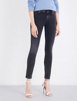 Armani Jeans Grigio skinny high-rise jeans
