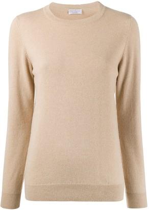 Brunello Cucinelli crew-neck cashmere pullover