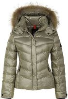 Bogner Fire & Ice Bogner Bogner Sally Lightweight Metallic Ripstop Jacket with Fur - Women's