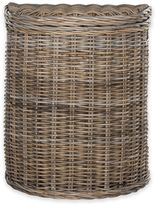 Safavieh Happimess by Damari Rattan Hamper in Grey