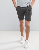 Farah Hawk Straight Chino Shorts In Dark Grey