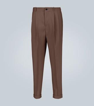 Goetze Charles double-pleated pants