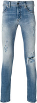Diesel distressed skinny jeans - men - Cotton/Polyester/Spandex/Elastane - 30