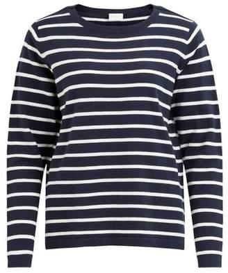 Dorothy Perkins Womens **Vila Blue Striped Top, Blue