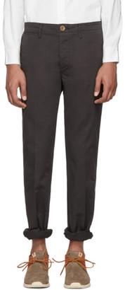 Visvim Black Slim Chino Trousers