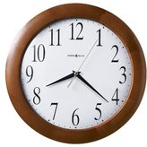 """Howard Miller Large Corporate Wall Clock, 12-3/4"""", Cherry (625214)"""