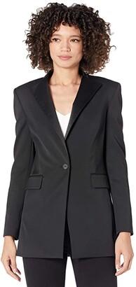 AllSaints Sofia Blazer (Black) Women's Clothing