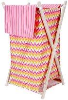 Trend Lab Trend-Lab Pink Savannah Hamper Set for Nursery/laundyroom by