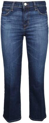 J Brand Selena Flared Cropped Jeans
