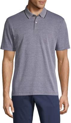 Theory Short-Sleeve Cotton-Blend Polo