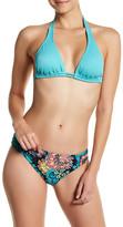 Reef Cove Solid Halter Bikini Top