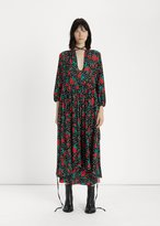 Vetements Rose Polka Dot Tie Dress