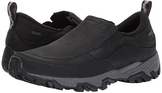 Merrell Coldpack Ice+ Moc Waterproof (Black) Men's Shoes