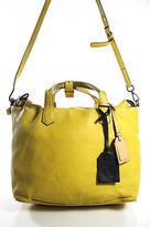 Reed Krakoff Yellow Leather Shoulder Handbag Size Medium
