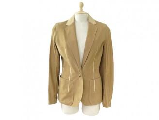 Hermes Beige Leather Jacket for Women