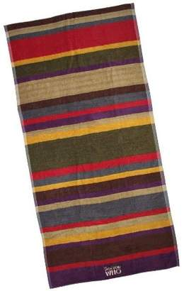 Doctor Who Robe Factory LLC 4th Doctor Multi Color 28 x 55 Inch Cotton Towel
