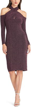 Rachel Roy Simone Cold Shoulder Long Sleeve Dress