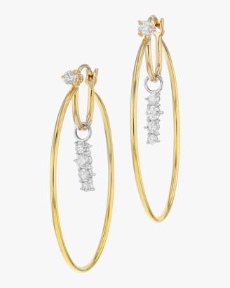 Phillips House Enchanted Drop Hoop Earrings