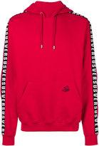 Versus side strap hoodie