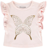 Zadig & Voltaire Sale - Angie Butterfly Ruffle T-Shirt