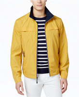London Fog Men's Packable Stand-Collar Jacket