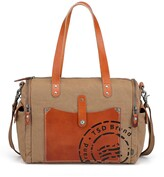 Thumbnail for your product : TSD BRAND Super Horse Canvas Satchel Bag