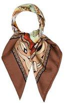 Hermes Vie Du Fleuve Silk Scarf
