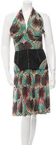 Sophie Theallet Silk Halter Dress w/ Tags