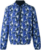 Versace crushed Medusa Head print jacket