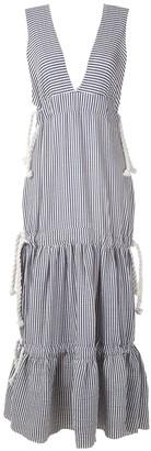 Clube Bossa Bourgen striped maxi dress