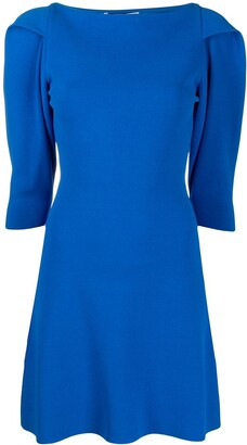 Stella McCartney Structured Shoulders Short Dress