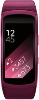 Samsung Unisex Gear Fit2 Smart Fitness Band with 25x51mm Aluminum Case & Pink Sport Strap SM-R3600ZINXAR