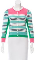 Marc Jacobs Colorblock Wool Cardigan