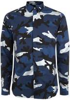 Valentino Slim-fit Camo Shirt