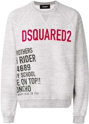 DSQUARED2 Branded Sweatshirt