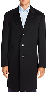 Canali Wool & Cashmere Classic Fit Overcoat