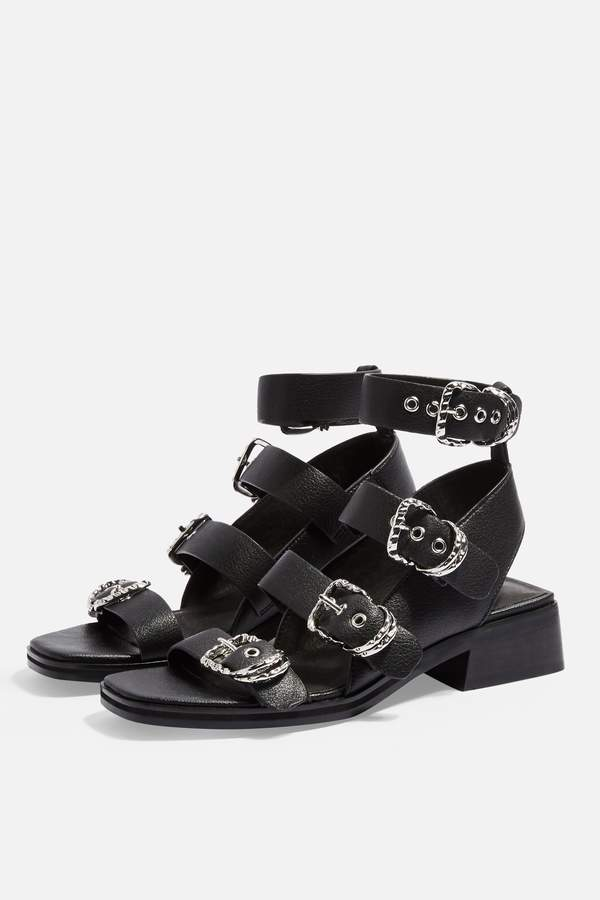 f2605a74eef19 Topshop Buckled Shoes - ShopStyle UK