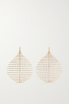 Fernando Jorge Disco 18-karat Gold Diamond Earrings - one size