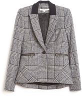 Veronica Beard First Plaid Jacket with Dickey